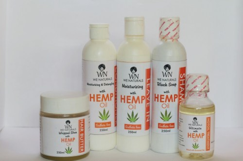 Picture of Wenaturals Hemp Oil Range