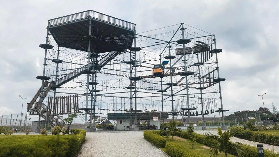 Image of a structure at pleasure park, port Harcourt
