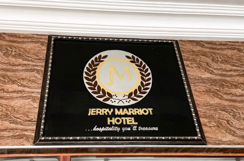 Jerry Marriott Hotel Nsukka SIgnage