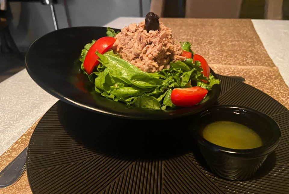 Tuna salad 355 steakhouse and lounge