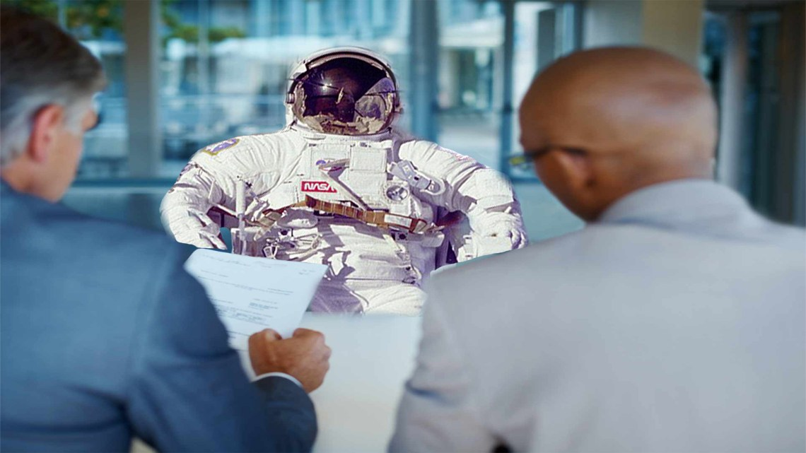 astronaut interview