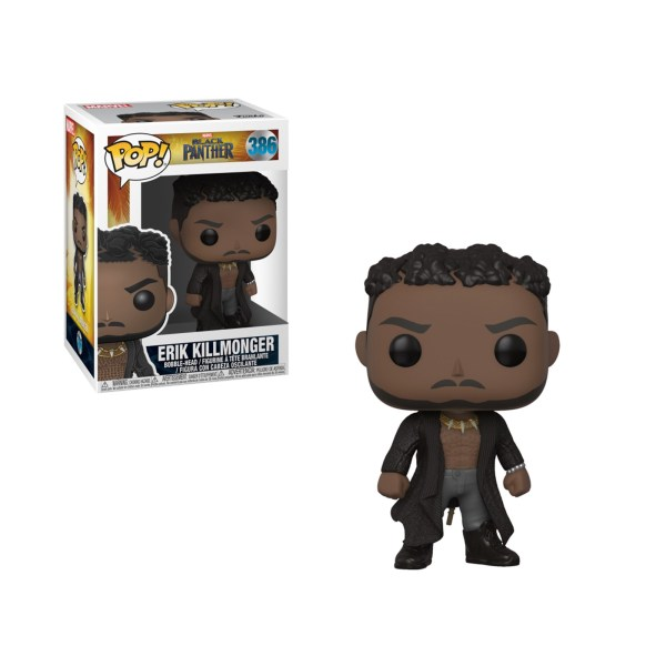Figurine Funko Pop Killmonger With Scar – 386
