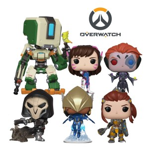 Bundle 6 pop « OVERWATCH «