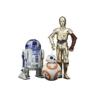 3 Figurines Star wars «DROIDES»