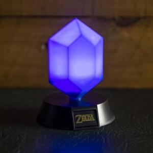 Mini-lampe «RUBIS BLEU»