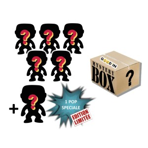 PACK 6 FUNKO POP « MYSTERE »