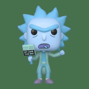 Hologram Rick clone