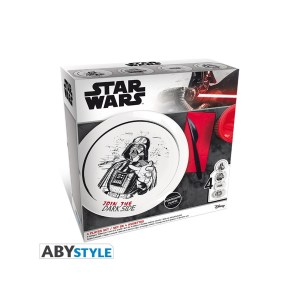 4 Assiettes STAR WARS
