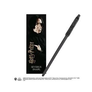 Baguette + marque page «Severus Rogue»