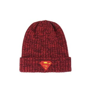 Bonnet tricot « SUPERMAN »