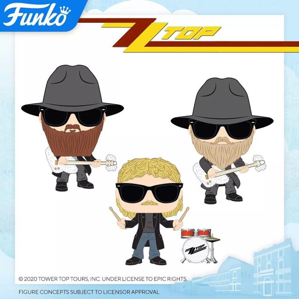 Annonces Funko Pop london toy fair 2020 rocks