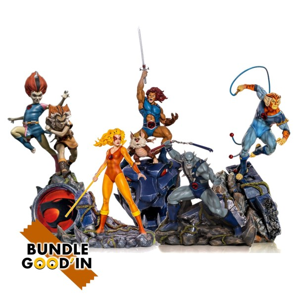 Figurine Bundle 5 Figurines «COSMOCATS»