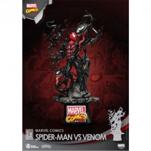 Diorama « SPIDER-MAN vs VENOM »