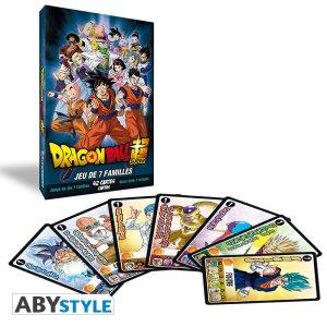 Jeu de 7 Familles Dragon Ball Super