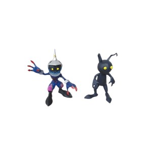 Shadow et Soldier Heartless (Action figure)