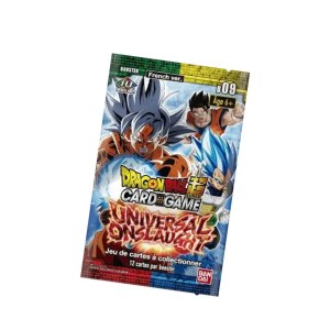 Booster 12 cartes «UNIVERSAL ONSLAUGHT» B09