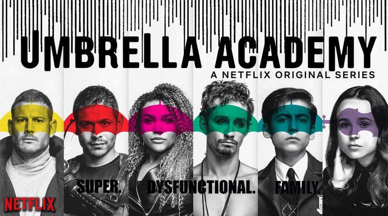 banniere The umbrella academy netflix series goodin shop