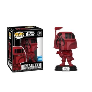 Funko Pop Star Wars Boba Fett (Red) – 297