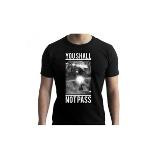 "T-Shirt GANDALF ""You shall not pass"" Noir"