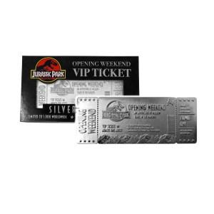 Ticket VIP argent «JURASSIC PARK»