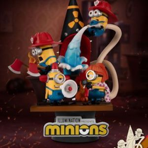 Diorama «MINIONS FIREFIGHTERS»