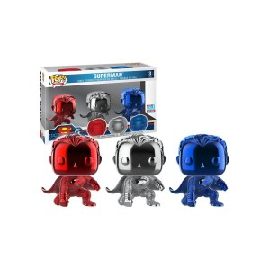 Funko pop 3 Pack «Superman»
