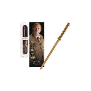 Baguette + marque page «Arthur Weasley»