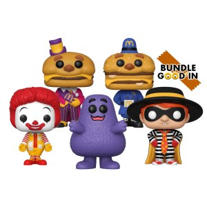 Bundle 5 Pop «McDonald's»