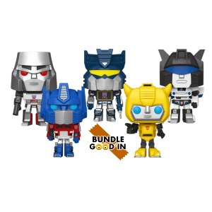 Funko Pop Retro toys Transformers – Bundle de 5 Pop