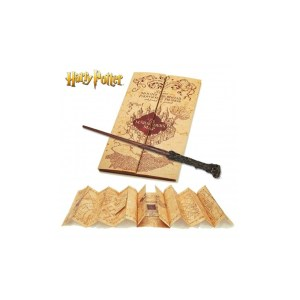 Baguette + Carte du Maraudeur « Harry Potter »