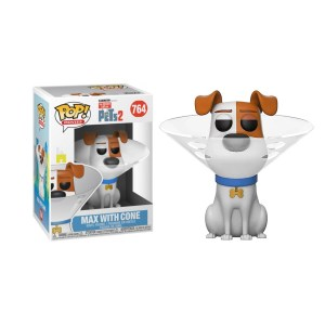 Funko pop Secret life of pets Max with cone – 764