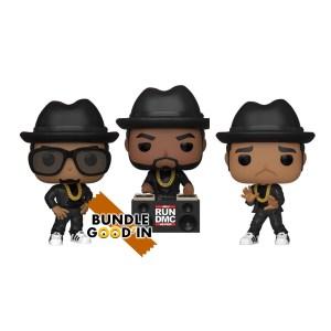 Funko Pop rocks RUN DMC – Bundle 3 Pop