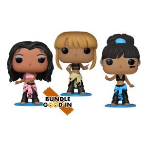 Funko Pop rocks TLC – Bundle 3 Pop
