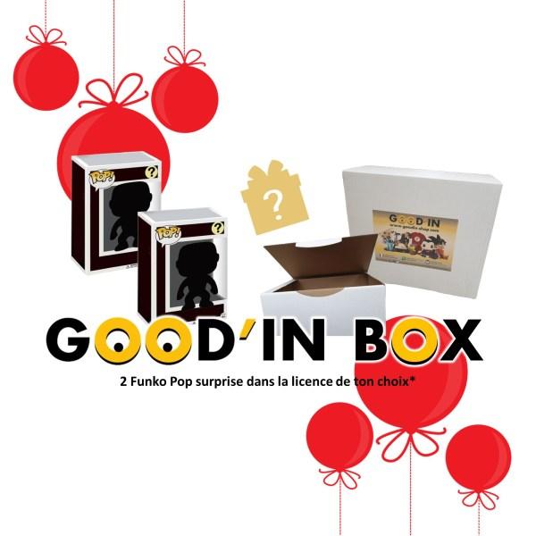 Figurine Funko Pop Good'in Box 2 Funko Pop Mystère NOEL 2020
