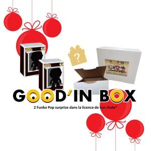 Good'in Box 2 Funko Pop Mystère NOEL 2020