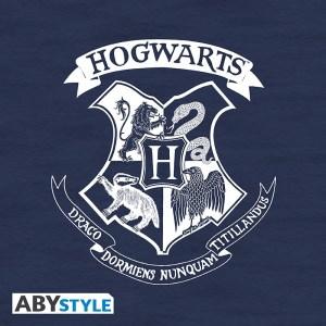 "Sweat Harry Potter ""Poudlard"" Navy Vintage"