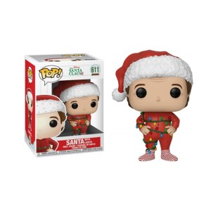 "Funko Pop The Santa Clause ""Santa with lights – 611"
