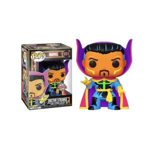 "Funko Pop Marvel Doctor strange ""BLACK LIGHT"" – 651"