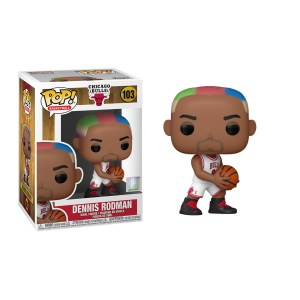 Funko Pop Basketball NBA Dennis Rodman (Bulls Home) – 103