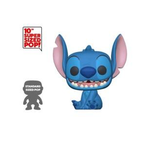 Funko pop Disney Lilo & Stitch – Stitch smiling seated 25cm