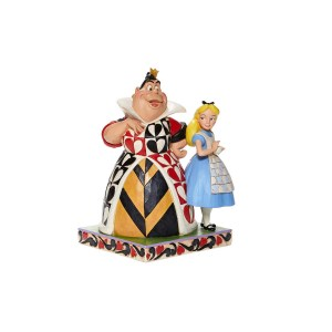 Figurine Disney Alice & Reine de coeur Traditions