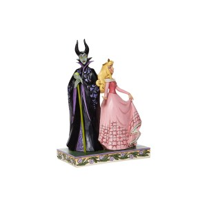 Figurine Disney Aurore & Malefique Traditions