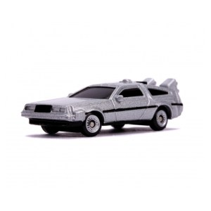 Réplique NANO Time machine DeLorean Retour vers le futur 3 pack