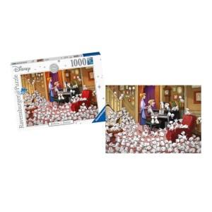 Puzzle Disney Les 101 Dalmatiens 1000 pièces