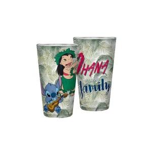 Verre XXL Disney Lilo & Stitch Ohana Family 400ml