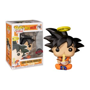 Funko Pop Dragon Ball Z Goku eating noodles – 710