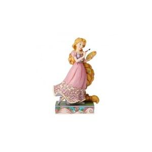 Figurine Disney Raiponce Artiste Traditions