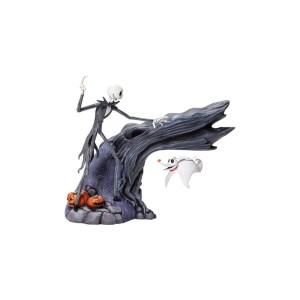 Figurine Disney Jack et Zero levitation Grand jester
