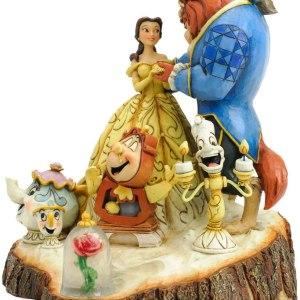 Figurine Disney La belle et la bête Histoire eternelle