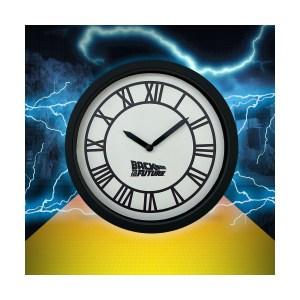 Horloge Murale Retour vers le futur ronde Clock Tower